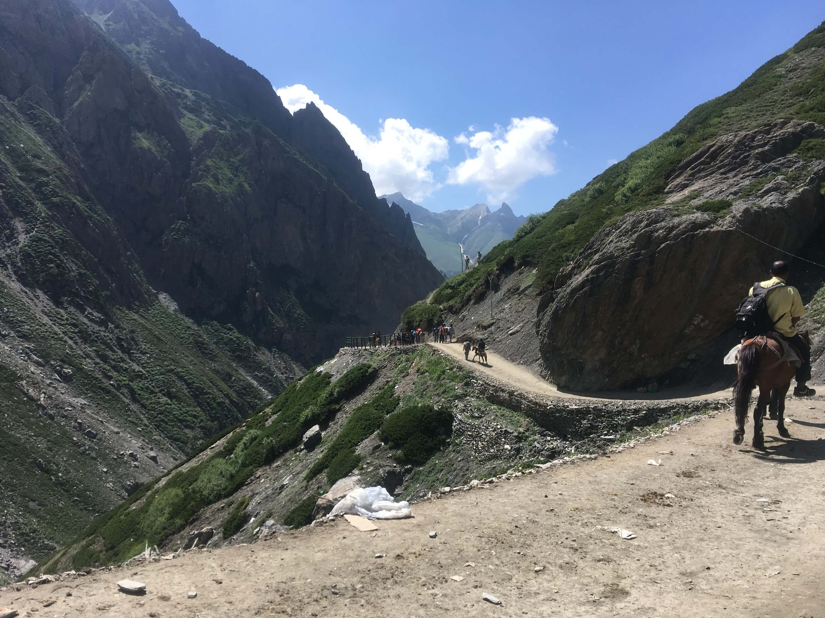 road to cave