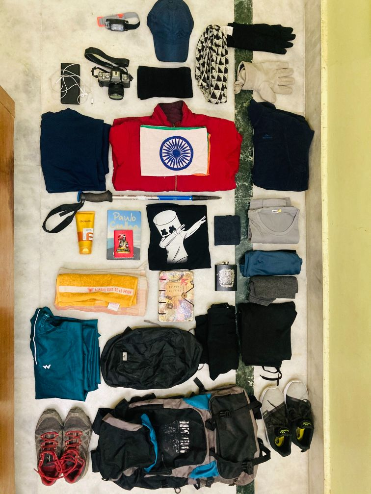What to pack for trek